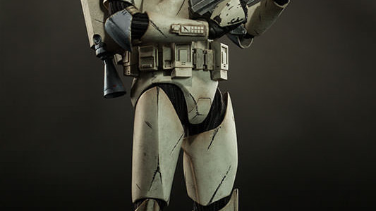 Sideshow Collectibles Wolfpack Clone Trooper