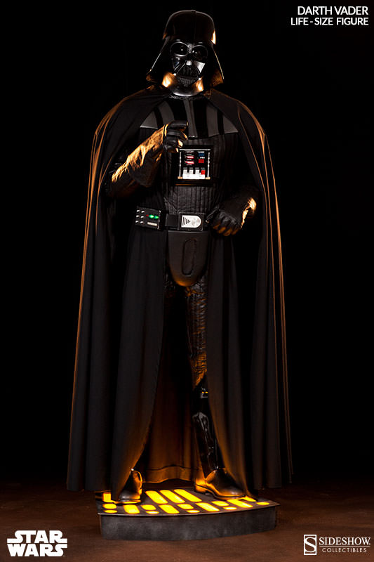 Darth Vader Life Size Figure By Sideshow Collectibles Theforceguide Com