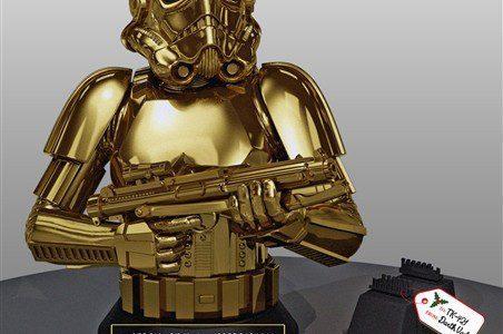 Gentle Giant Gold Stormtrooper