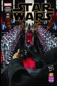 Marvel Comics Star Wars #001 Hasbro Variant