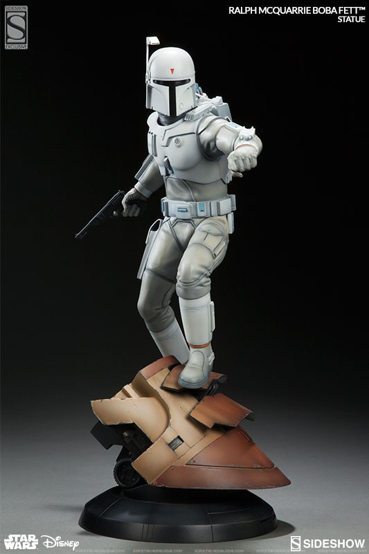 Ralph Mcquarrie Boba Fett Boba Fett Statue By Sideshow Collectibles