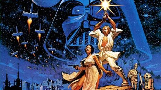 Universal History Archive | Getty Images A poster from the original 1977 Star wars film.
