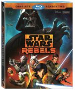 Star Wars Rebels Season 2 on Blu Ray and DVD Aug 30th