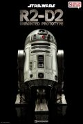 R2-D2 Unpainted Prototype Sixth Scale Figure SDCC 2016 Exclusive by Sideshow Collectibles