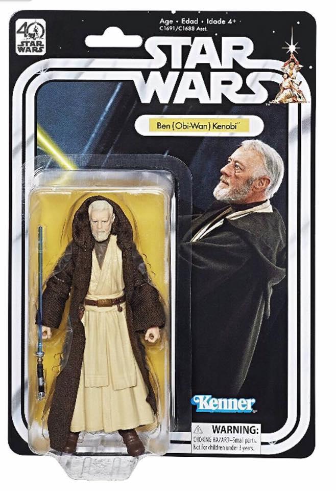 Hasbro 40th Anniversary Ben (Obi-Wan) Kenobi