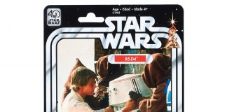 STAR WARS THE BLACK SERIES 6 INCH 40th ANNIVERSARY Game Stop Exclusive R5 DR (in Pkg)