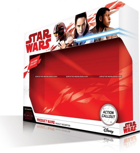 Hasbro Star Wars: The Last Jedi Package