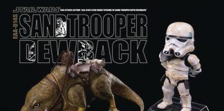 Diamond Select Toys Star Wars Dewback & Sandtrooper