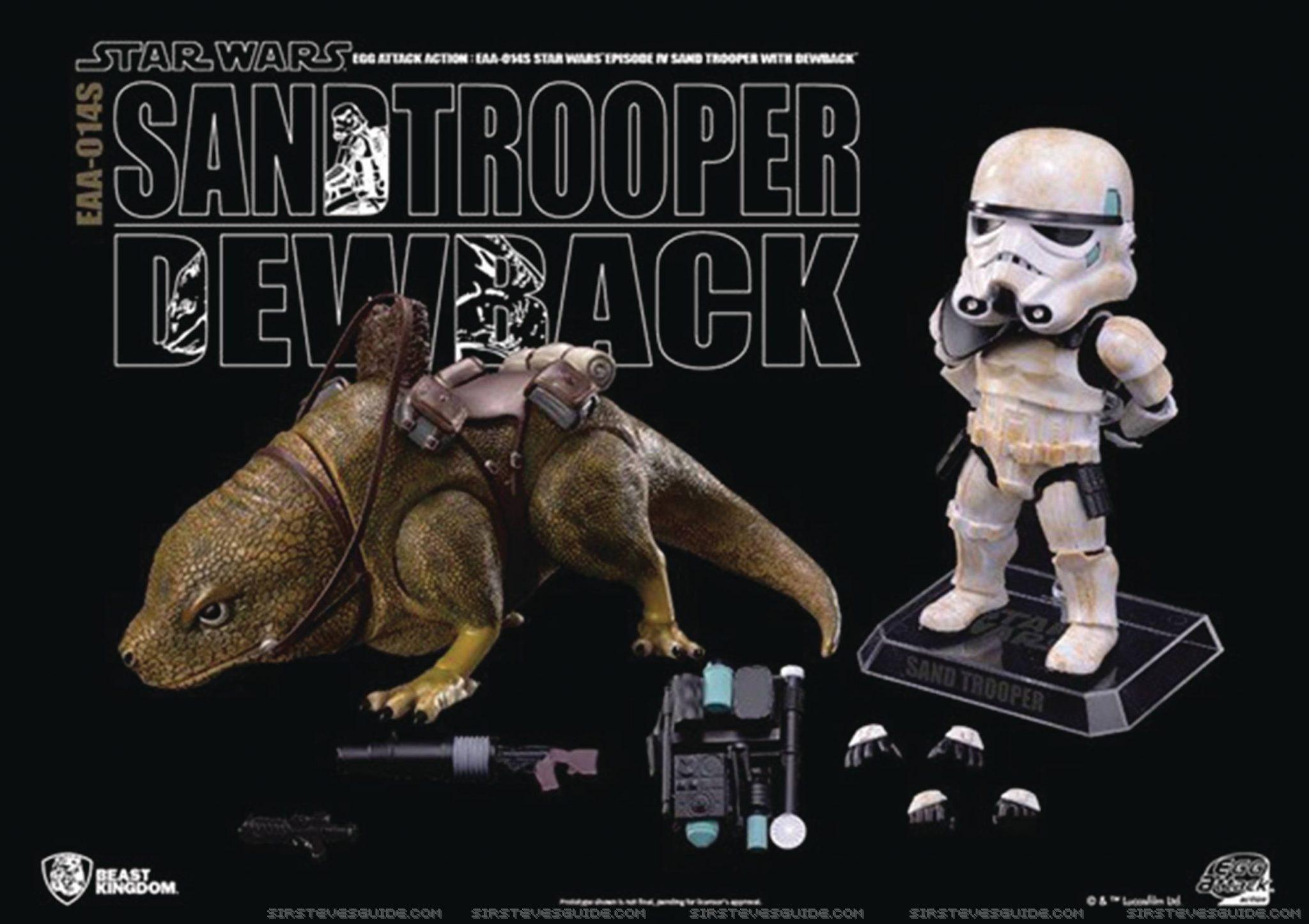 Diamond Select Toys Star Wars Dewback & Sandtrooper