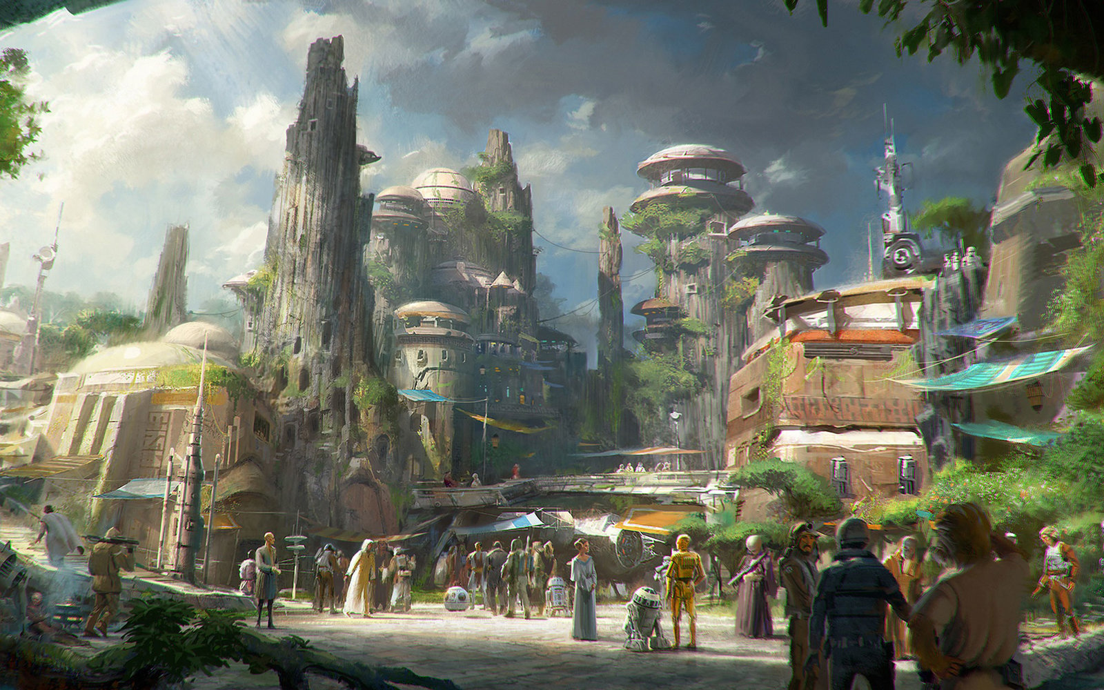 Star Wars Park Disneyland 01 CONCEPT0516