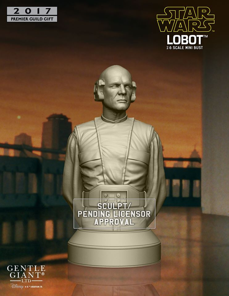 Gentle Giant PGM Lobot Bust Preview 2