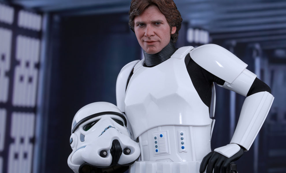 Star Wars Han Solo Stormtrooper Disguise Version Sixth Scale Hot Toys Feature 902990