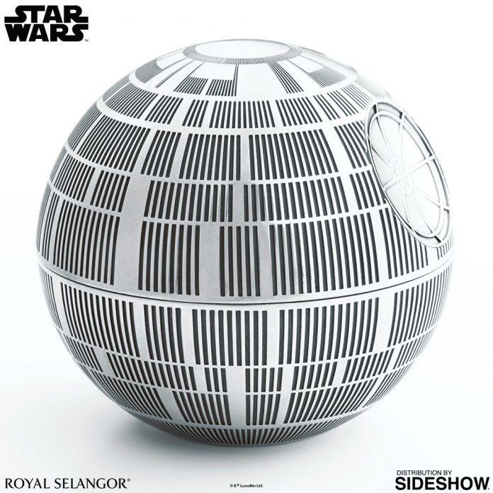 Star Wars Death Star Trinket Box Royal Selangor 903018 02