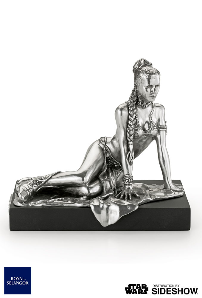 Star Wars Princess Leia Figurine Royal Selangor 903013 02