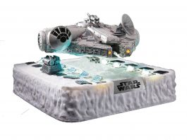STAR WARS EP5 EA 020 FLOATING MILLENNIUM FALCON PX AF