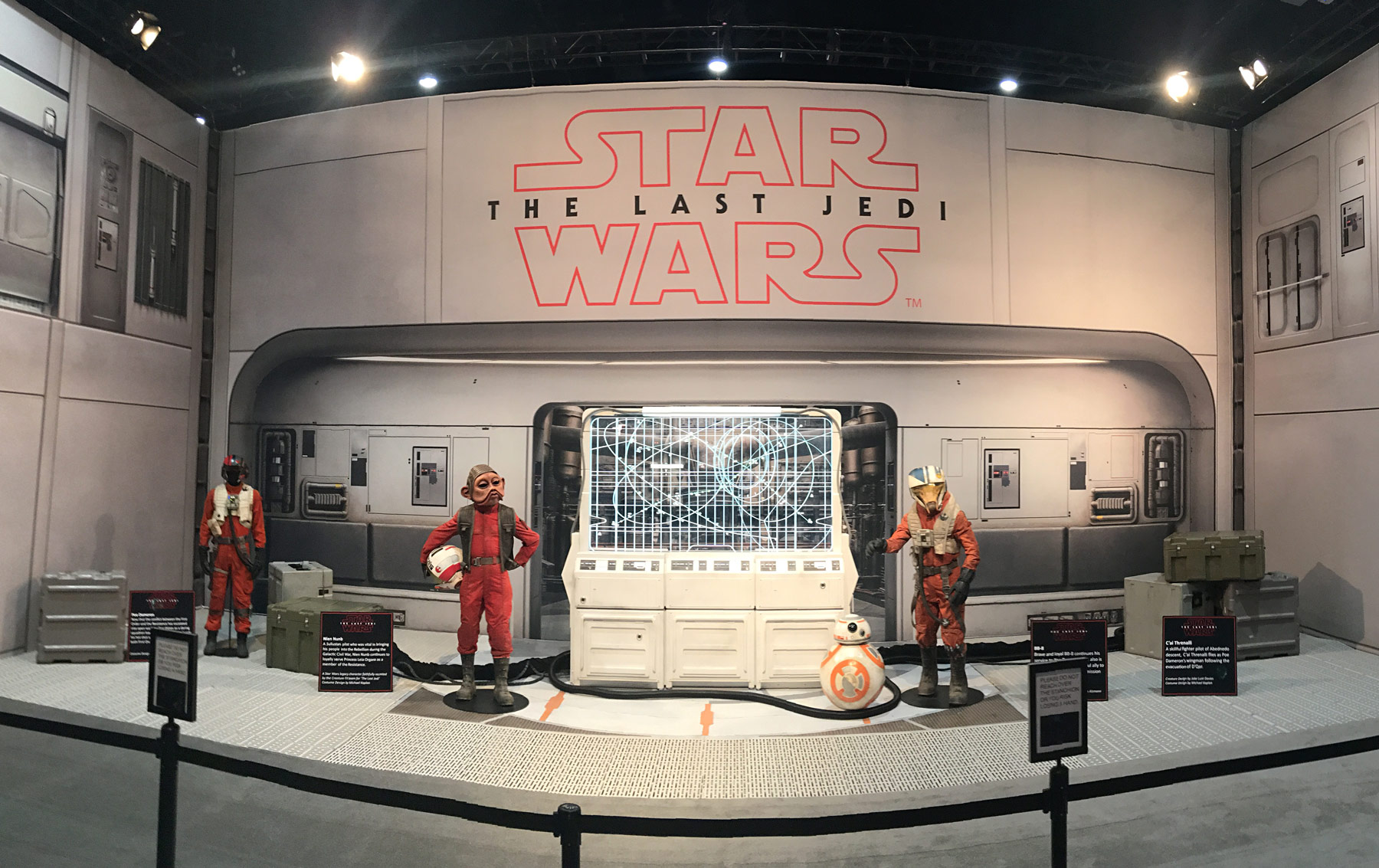 All Sdcc The Last Jedi Costumes Props