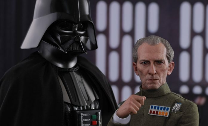 Star Wars Grand Moff Tarkin And Darth Vader Sixth Scale Hot Toys Feature 903162