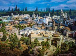 Star Wars Land Model Disney World Disneyland 205