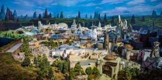 Star Wars Land Model Disney World Disneyland 205