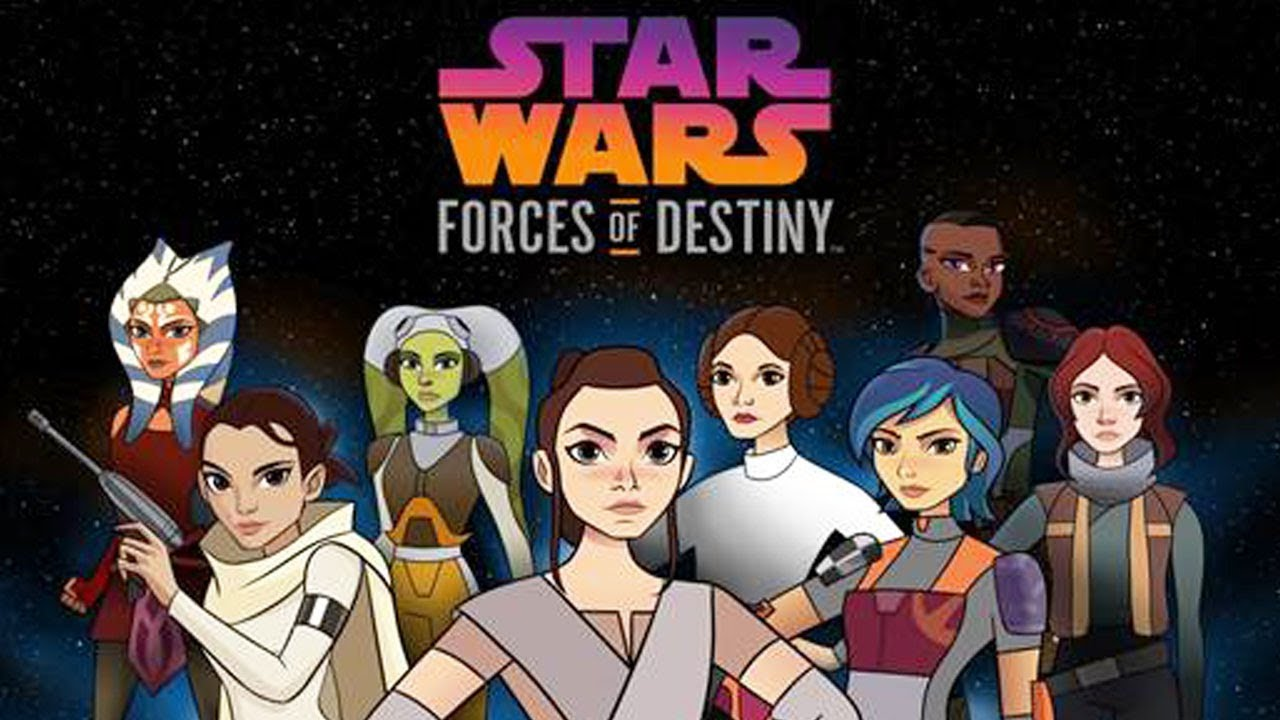 STAR WARS FORCES OF DESTINY HASCON Reveal 2 (in Pkg)