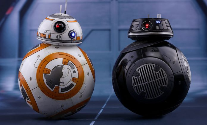 Star Wars The Last Jedi Bb 8 Bb 9e Sixth Scale Set Hot Toys Feature 903190