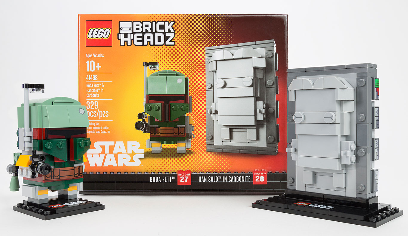 LEGO NYCC17 Exclusive Figures And Box