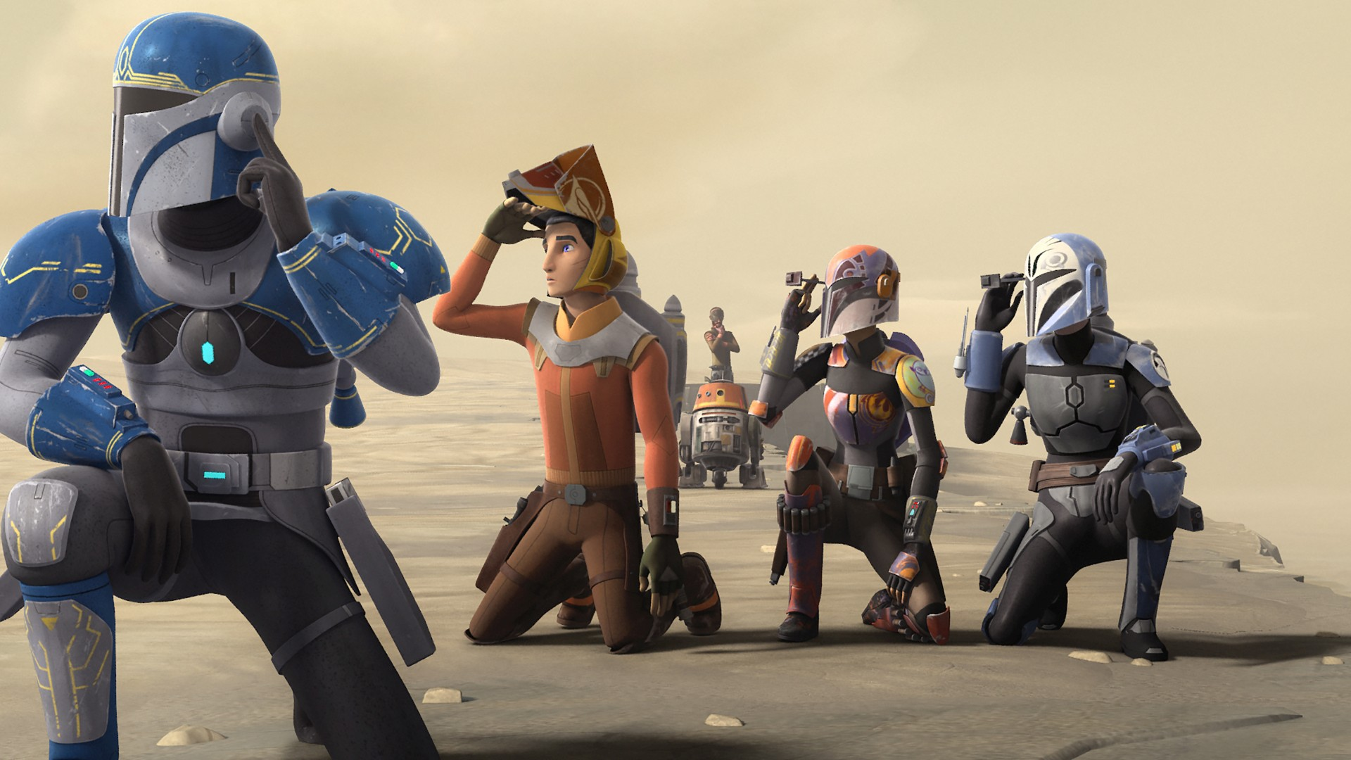 Star Wars Rebels Season 4 Premieres Tonight After Midnight