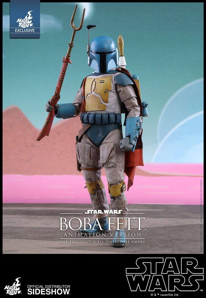 Star Wars Boba Fett Animated Version Sixth Scale Hot Toys 902997 01