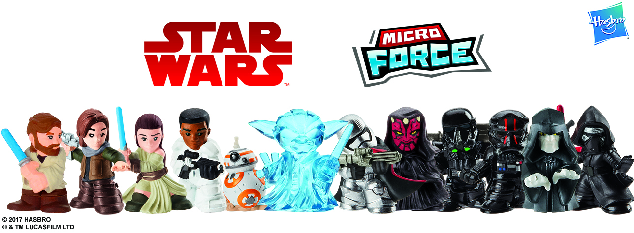STAR WARS MICRO FORCE Blind Bags Assortment (Wave 2)