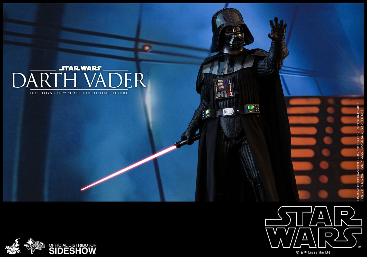 Darth Vader Sixth Scale Figure By Hot Toys Episode V The Empire Strikes Back Movie Masterpiece Series Theforceguide Com