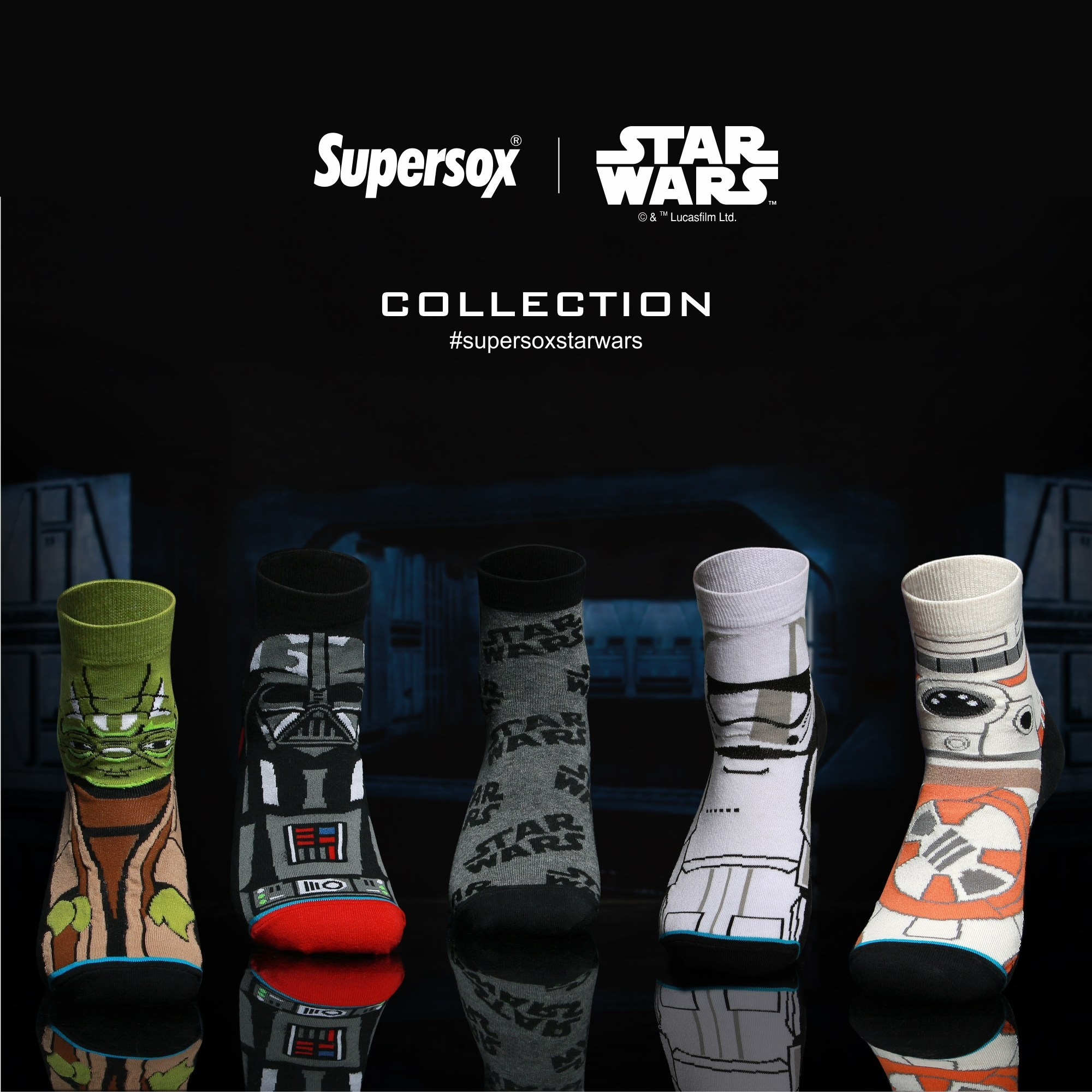 Supersox Star Wars Socks