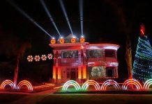 Merry Sithmas! A Star Wars Christmas Light Show!