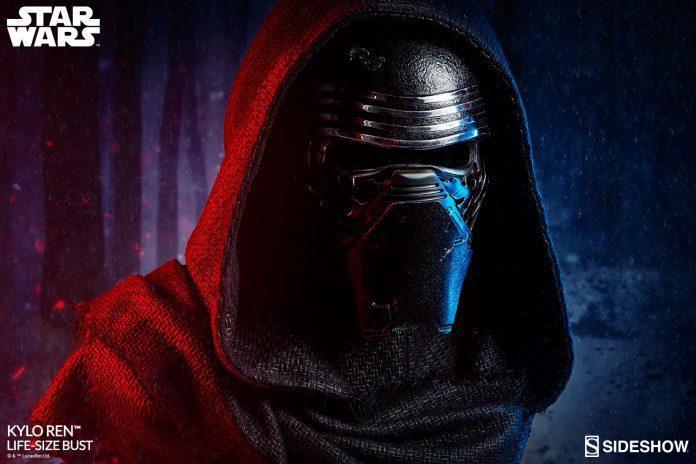Star Wars Kylo Ren Life Size Bust Sideshow 400316 01