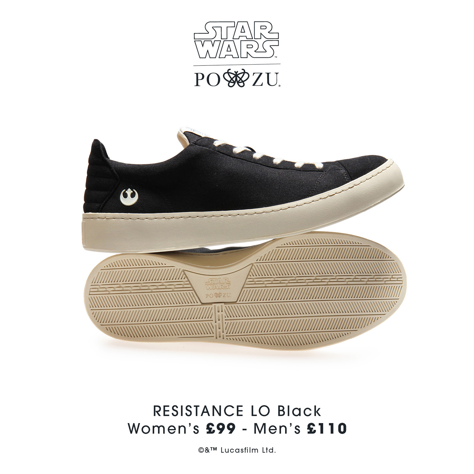 e8d74eae7f BRAND NEW Star Wars Po-Zu footwear announced – TheForceGuide.com