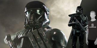 Star Wars Death Trooper Life Size Figure Sideshow Feature 400305
