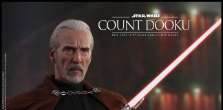 Star Wars Count Dooku Sixth Scale Figure Hot Toys 903655 01