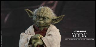 Star Wars Yoda Sxith Scale Figure Hot Toys 903656 01