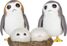 STAR WARS FORCES OF DESTINY CHEWBACCA AND PORGS Oop1
