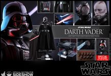 Star Wars Darth Vader Quarter Scale Figure Hot Toys 9025061 03