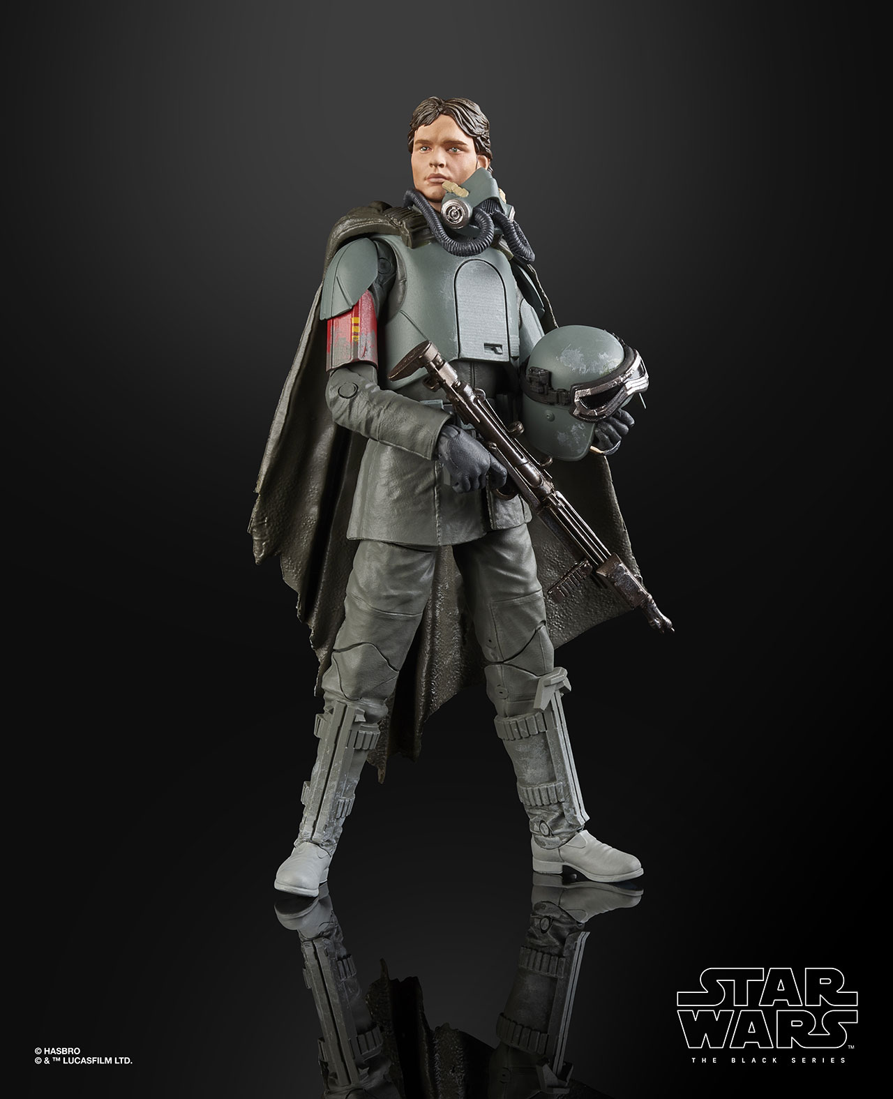 STAR WARS THE BLACK SERIES FIGURE Han Solo Mimban (1)