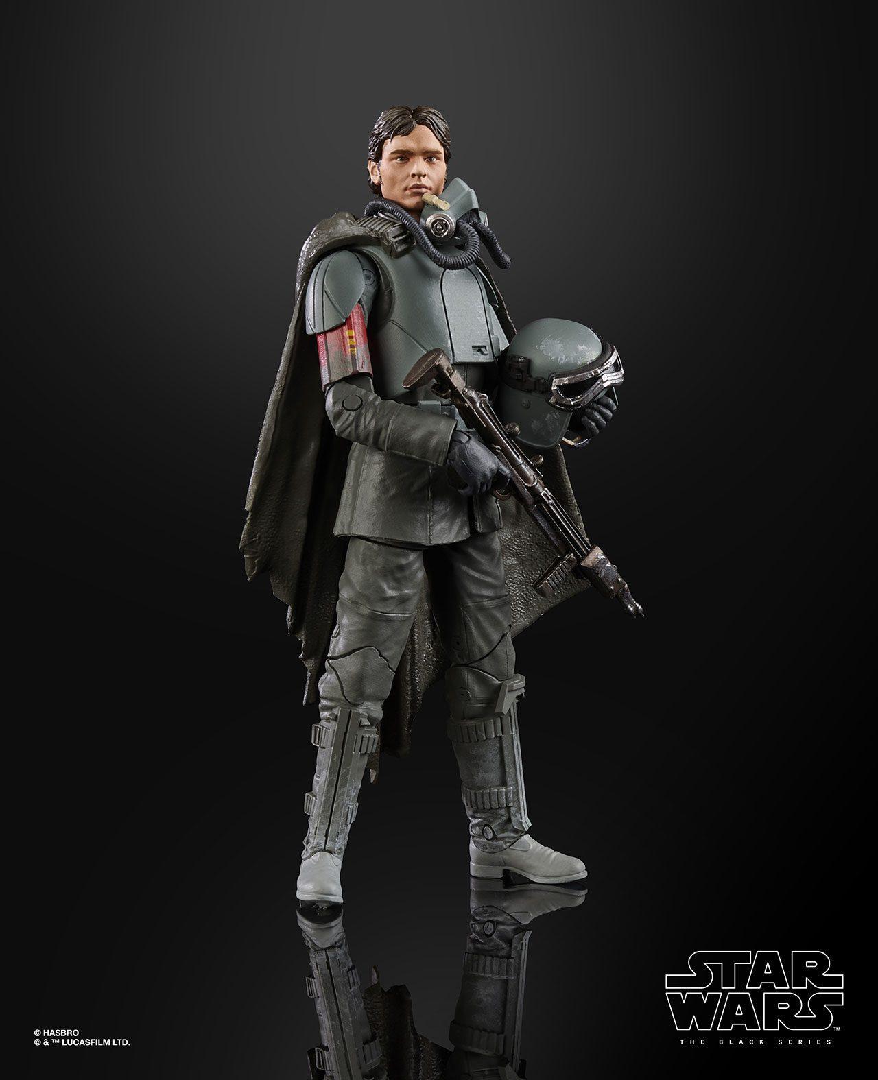 STAR WARS THE BLACK SERIES FIGURE Han Solo Mimban (2)
