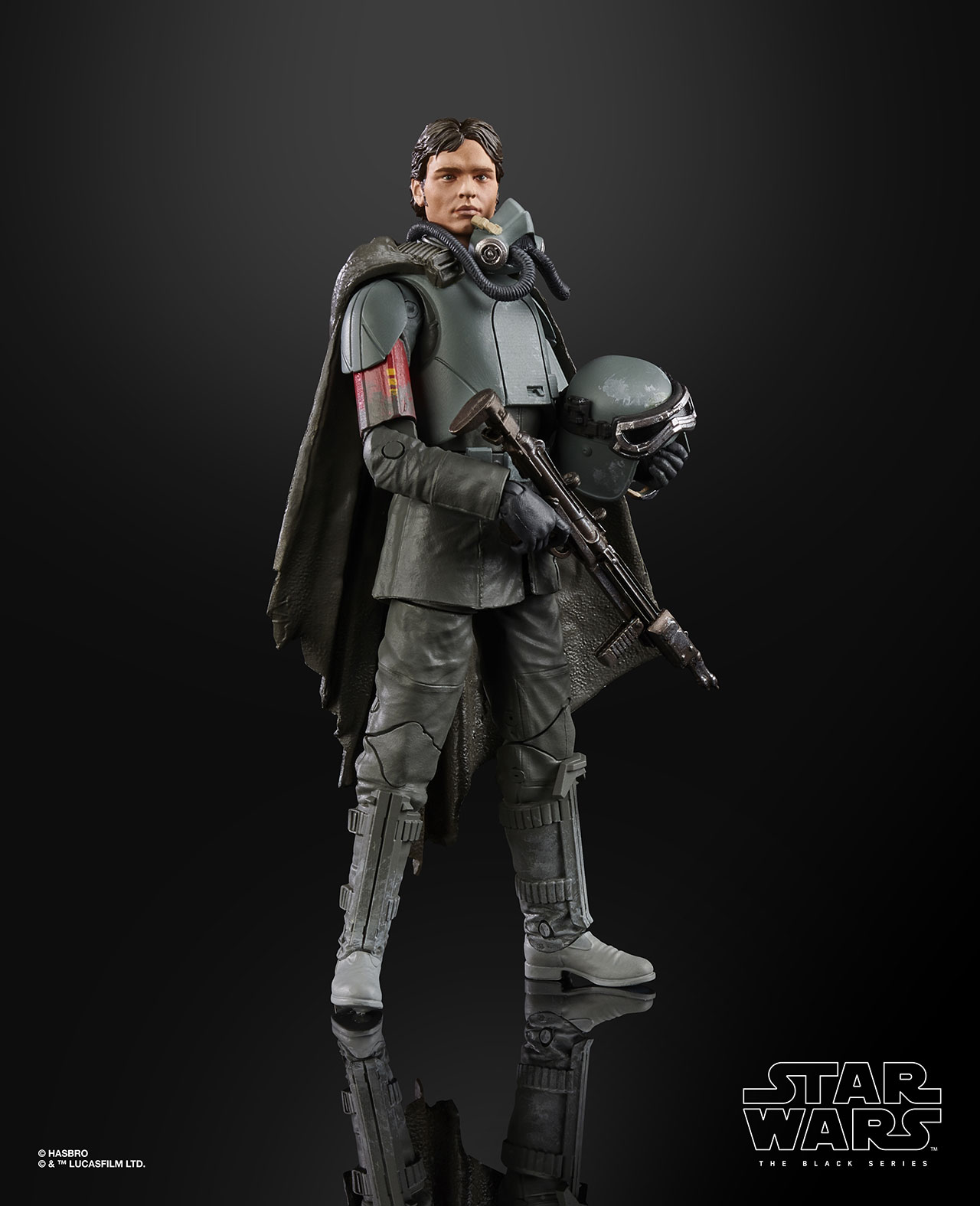 STAR WARS THE BLACK SERIES FIGURE Han Solo Mimban (2)
