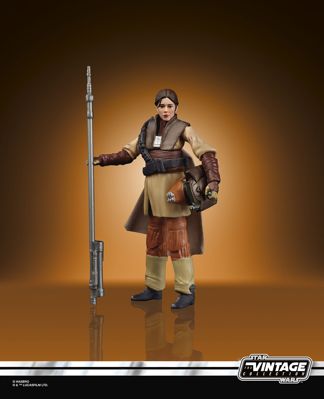 STAR WARS THE VINTAGE COLLECTION FIGURE Leia Boushh (PhotoReal 2)