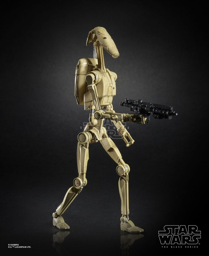 Star Wars The Black Series 6 Inch Battle Droid Figure (1)