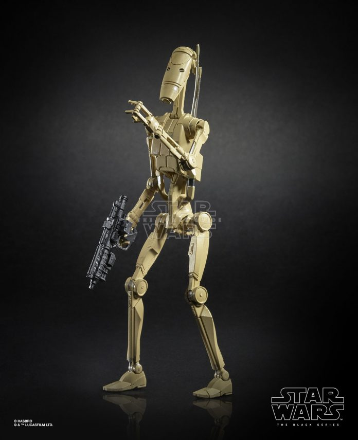 Star Wars The Black Series 6 Inch Battle Droid Figure (2)