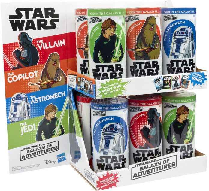 STAR WARS GALAXY OF ADVENTURES Assortment PDQ (1)