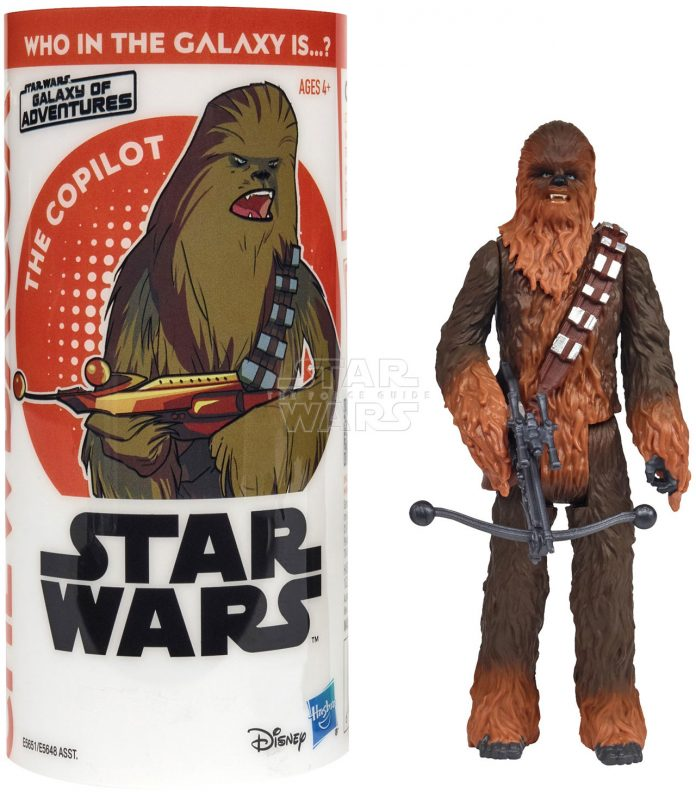 STAR WARS GALAXY OF ADVENTURES CHEWBACCA Figure And Mini Comic (1)