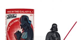 STAR WARS GALAXY OF ADVENTURES DARTH VADER Figure And Mini Comic (1)