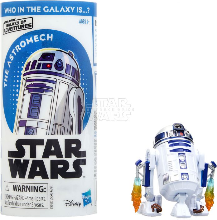 STAR WARS GALAXY OF ADVENTURES R2 D2 Figure And Mini Comic (1)