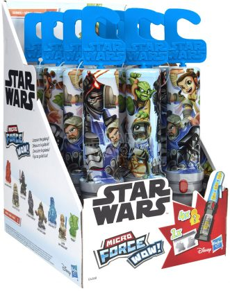 STAR WARS MICRO FORCE WOW SERIES 1 In Pck (1)